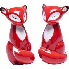 "Salz- und Pfefferstreuer ""Fuchs"" Kare Design, 2 Set, Furniture Design, Objects, Fox, Presents, Glitter, Gifts, Wrapping"