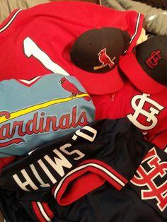 958590f48 Louis Cardinals - Ozzie Smith Jerseys - Jacket - Cap - Mitchell Ness -  Majestic - New Era - Batting Practice - Authentic - Replica