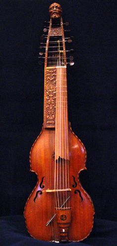 The Baryton is a bowed string instrument which shares some characteristics with instruments of the viol family,[1] distinguished by an extra set of plucked strings. It was in regular use in Europe up until the end of the 18th century. - Baryton by Ferdinand Wilhelm Jaura, 1934 after Simon Schodler, 1782