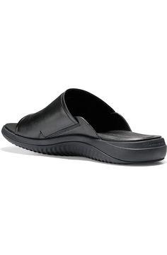 Cole Haan 2.ZeroGrand Slide Sandal (Men) | Nordstrom Men's Shoes, Nike Shoes, Slide Sandals, Men Sandals, Stylish Men, Cole Haan, Warm Weather, Wardrobe Staples, Nordstrom