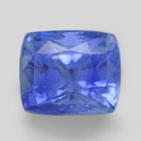 10 carat unheated Medium light cornflower blue Ceylon Sapphire cushion cut