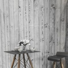 Lambris gris tendance scandinave