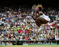 Serena Williams at Wimbledon 2012