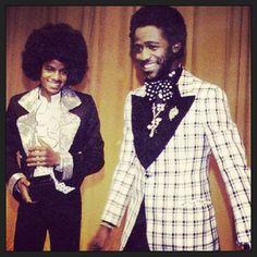 Michael Jackson and Al Green-still love Al Greens music classic! The Jackson Five, Jackson Family, Music Icon, Soul Music, Paris Jackson, Bob Marley, New School Hip Hop, Al Green, Vintage Black Glamour