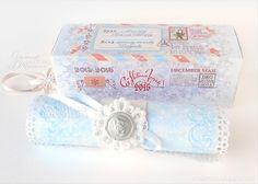 Новогодний подарок. Письмо от деда Мороза. Почта деда Мороза.: На крыльях вдохновения Facial Tissue, Decorative Boxes, Decorative Storage Boxes