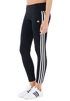 9e787f508689 Adidas Womens Essential 3 Stripe Tight S21020 (Medium