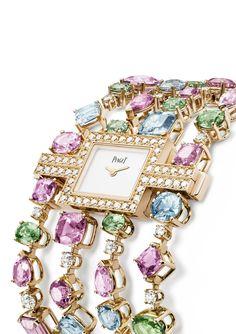 RosamariaGFrangini Haute Jewellery Watches Piaget Rose Passion watch in diamonds, cognac diamonds and rose gold High Jewelry, Jewelry Accessories, Jewelry Design, Piaget Jewelry, Diamond Jewelry, Diamond Necklaces, Diamond Rings, Lila Gold, Ring Armband