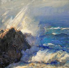 "Gordon Brown | ""Crashing Waves"" 