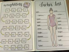 Bullet Journal planning and set up for 21 day fix program. weigh-in scale stickers, menu planning, 21 day fix plan food and water tracker for all plans A-D (What To Put In A Fitness Journal) Weight Loss Before, Fast Weight Loss, Weight Loss Plans, Weight Loss Program, Healthy Weight Loss, Journal Español, Fitness Journal, Workout Journal, Creative Journal