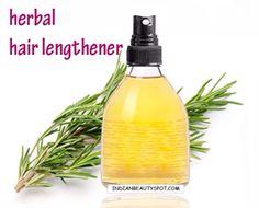 DIY ->> Herbal Hair Lengthener, Will Promote Hair Grow Fast!! Love This Spray