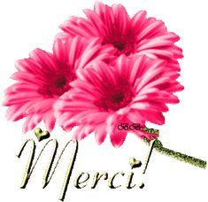* Gifs Merci * - (page - Tubes de Luscie Thank You Wishes, Thank You Greetings, Thank You Notes, Thank You Cards, Merci Gif, Dank Gifs, Bisous Gif, Tank You, Happy Friendship Day