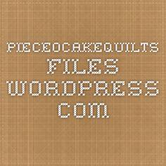 pieceocakequilts.files.wordpress.com Boomerang Bag pattern 1-17-2014