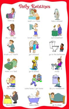 Health Problems in English - An ESL Chart | health | Pinterest