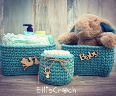 A personal favourite from my Etsy shop https://www.etsy.com/listing/487960202/set-of-3-baskets-l-baby-storage-baskets