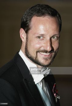 Prince Haakon of Norway arrives for a Gala Dinner at the Royal Palace to celebrate King Carl Gustaf XVI of Sweden's 60th Birthday on April 30, 2006 in Stockholm, Sweden.