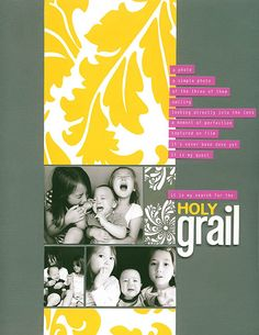 as seen in Creating Keepsakes magazine-holy grail