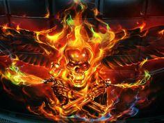 FIREBIRD REAL FIRE PAINT Killer Paint inc.