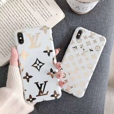 Leather Apple iPhone back cover Pretty Iphone Cases, Cute Phone Cases, Iphone 7 Plus Cases, Iphone Phone Cases, Iphone 11, Chanel Iphone Case, Designer Iphone Case, Modelos Iphone, Unlock Iphone
