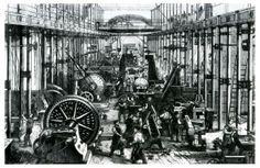 Hartmann Maschinenhalle, industrial revolution, revolución industrial
