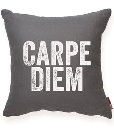- Live everyday to the fullest and seize every opportunity. This inspirational pillow reminds us that we have a choice everyday to live to our fullest potential. - Color: Brown, Cream, Gray, Red, Blue