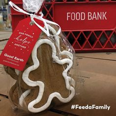 with Good Earth Coffeehouse and Winnipeg Harvest Food Bank, Gingerbread, Harvest, Coffeehouse, Earth, Seasons, Giveaways, Awesome, Holiday