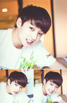1. CUTE 2.CUTEEE! 3.OMG SAAA CUTE I CANT EVEN <3 Can chu not be cute for once Kookie omg x