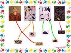 Joan Miró daba mucha importancia a los ojos, ojos grandes, ojos con pestañas, un solo ojo, muchos ojos....sea como fuere siempre había ...