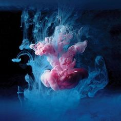 Вдохновляющие сочетания воды и чернил