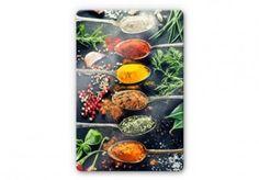 Variété d'épices 1 - Tableaux sur verre