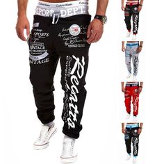 Men Jogger Pants Men Casual Sportswear 2017 Fashion Brand Fitness