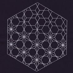 Stars Hexagon #NB339_48
