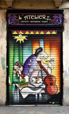 Barcelona, Spain door
