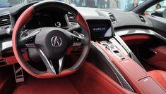 2016 Acura NSX - interior