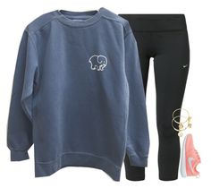 """""""Mood"""" by gourney ❤ liked on Polyvore featuring NIKE, Alex and Ani, women's clothing, women, female, woman, misses and juniors"""