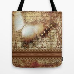Le Papillon / tan  Tote Bag Tan Tote Bag, Cheryl, Womens Tote Bags, Style, Butterflies, Swag, Outfits