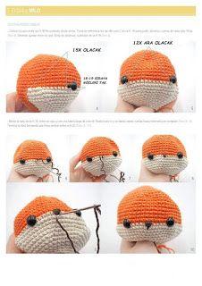 TİLKİ MİLO Octopus Crochet Pattern, Crochet Patterns, Crochet Baby Toys, Crochet Hats, Crochet Slippers, Knitting Projects, Free Pattern, Diy And Crafts, Winter Hats