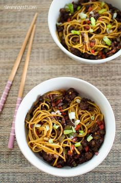 Chilli Beef Noodles | Slimming Eats - Slimming World Recipes: