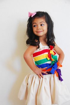 For a rainbow party dress maybe.