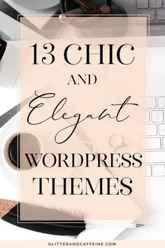 These chic and elegant WordPress themes for a sophisticated clean and minimalis Site Wordpress, Wordpress Website Design, Wordpress Template, Best Wordpress Themes, Wordpress Theme Free, Wordpress Admin, Minimalist Wordpress Themes, Learn Wordpress, Wordpress Theme Design