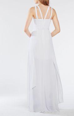 Juliana Cutout Ruffle Gown