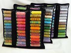**Thread sold separately; Listing is for (1) pouch** The Allium Spool Pouch was designed to be used in the Allium Spool Sac (pattern sold separately) but it can