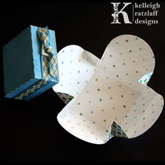 Clover Box Template Set and Cutting Files