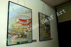 Exposição Cidades no Papel.