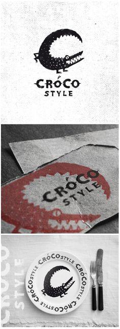 Крокостайл. Сделала из Кроко лого (раз в азбуку он не попал))  https://www.behance.net/gallery/38671179/CrocoStyle