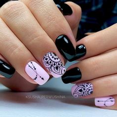 nail designs hansen chrome nail makeup nail art nailart nail art designs inc nail makeup inc nail makeup inc nail makeup harley gardens makeup design Dark Color Nails, Dark Nails, Nail Colors, Dark Nail Art, New Nail Art Design, Cool Nail Designs, Salon Design, Cute Nails, Pretty Nails