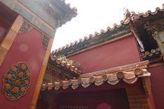 Corner of Forbidden City in Beijing