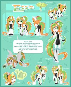 Exo Ultimate Reference Guide by Centchi on DeviantArt