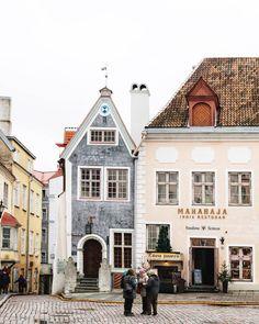 Old Town Tallinn, Estonia. #europe #travel #estonia