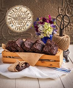 Decadent Gluten-Free Brownies  Prep Time: 15 Minutes  Cook Time: 35 Minutes  Makes: 9 Brownies