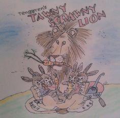 Golden Book's Tawny Scrawny Lion